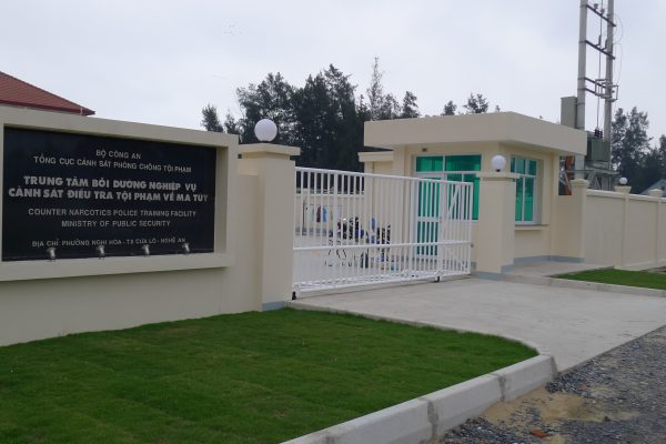 COUNTER NARCOTICS POLICE TRAINING FACILITY