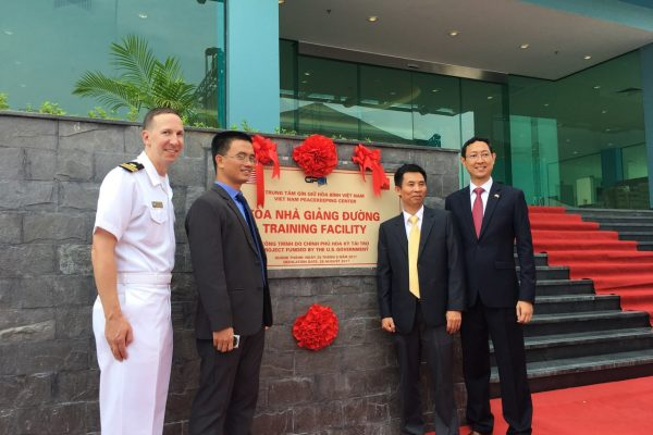Hand Over Ceremony of Vietnam Peace Keeping Center Project